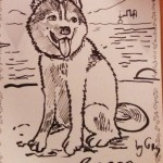 Wordless Wednesday: Sketched